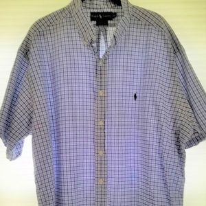 Ralph Lauren Men's Blake Plaid Button Down Shirt